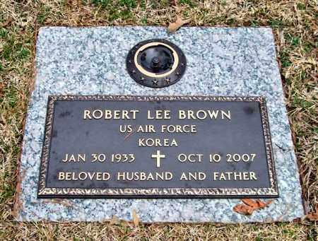 BROWN (VETERAN KOR), ROBERT LEE - Saline County, Arkansas | ROBERT LEE BROWN (VETERAN KOR) - Arkansas Gravestone Photos