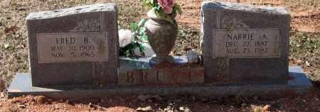 BRUCE, FRED B. - Saline County, Arkansas   FRED B. BRUCE - Arkansas Gravestone Photos