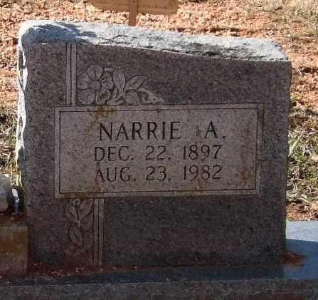 WILSON BRUCE, NARRIE A. (CLOSEUP) - Saline County, Arkansas   NARRIE A. (CLOSEUP) WILSON BRUCE - Arkansas Gravestone Photos