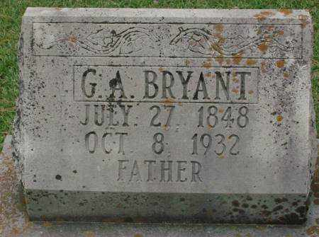 BRYANT, G. A. - Saline County, Arkansas | G. A. BRYANT - Arkansas Gravestone Photos