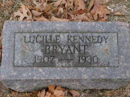 KENNEDY BRYANT, LUCILLE - Saline County, Arkansas | LUCILLE KENNEDY BRYANT - Arkansas Gravestone Photos