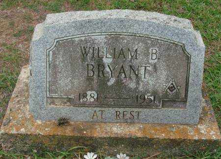 BRYANT, WILLIAM B - Saline County, Arkansas   WILLIAM B BRYANT - Arkansas Gravestone Photos