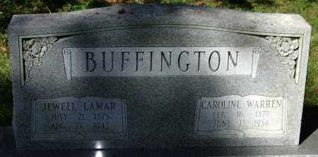 BUFFINGTON, JEWELL LAMAR - Saline County, Arkansas | JEWELL LAMAR BUFFINGTON - Arkansas Gravestone Photos