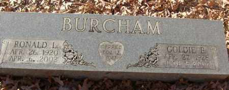 BURCHAM, GOLDIE B. - Saline County, Arkansas | GOLDIE B. BURCHAM - Arkansas Gravestone Photos