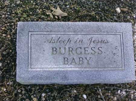 BURGESS, BABY - Saline County, Arkansas | BABY BURGESS - Arkansas Gravestone Photos