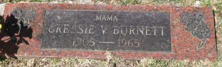 BURNETT, CRESSIE VICTORIA - Saline County, Arkansas | CRESSIE VICTORIA BURNETT - Arkansas Gravestone Photos