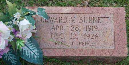 BURNETT, EDWARD V - Saline County, Arkansas   EDWARD V BURNETT - Arkansas Gravestone Photos