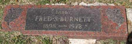 BURNETT, FRED S - Saline County, Arkansas | FRED S BURNETT - Arkansas Gravestone Photos