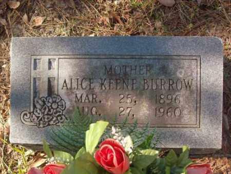BURROW, ALICE - Saline County, Arkansas   ALICE BURROW - Arkansas Gravestone Photos