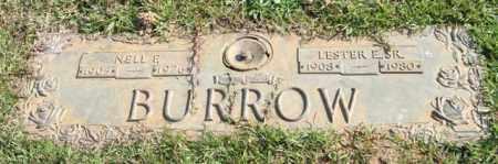 BURROW, SR., LESTER E. - Saline County, Arkansas | LESTER E. BURROW, SR. - Arkansas Gravestone Photos