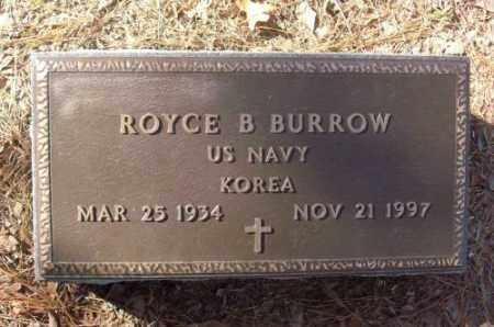 BURROW (VETERAN KOR), ROYCE B - Saline County, Arkansas | ROYCE B BURROW (VETERAN KOR) - Arkansas Gravestone Photos
