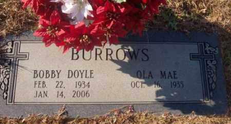 BURROWS, BOBBY DOYLE - Saline County, Arkansas   BOBBY DOYLE BURROWS - Arkansas Gravestone Photos