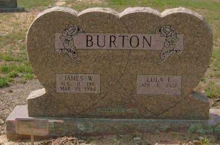 BURTON, JAMES W. - Saline County, Arkansas | JAMES W. BURTON - Arkansas Gravestone Photos