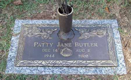 BUTLER, PATTY JANE - Saline County, Arkansas | PATTY JANE BUTLER - Arkansas Gravestone Photos