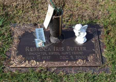 BUTLER, REBECCA IRIS - Saline County, Arkansas | REBECCA IRIS BUTLER - Arkansas Gravestone Photos