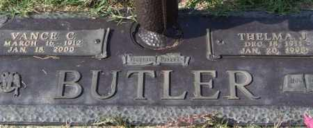 BUTLER, THELMA J. - Saline County, Arkansas | THELMA J. BUTLER - Arkansas Gravestone Photos