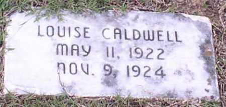 CALDWELL, LOUISE - Saline County, Arkansas   LOUISE CALDWELL - Arkansas Gravestone Photos