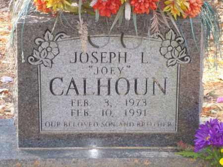 "CALHOUN, JOSEPH L ""JOEY"" - Saline County, Arkansas | JOSEPH L ""JOEY"" CALHOUN - Arkansas Gravestone Photos"