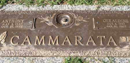 CAMMARATA, GERALDINE - Saline County, Arkansas | GERALDINE CAMMARATA - Arkansas Gravestone Photos