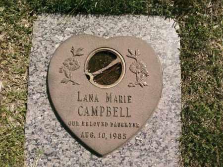 CAMPBELL, LANA MARIE - Saline County, Arkansas | LANA MARIE CAMPBELL - Arkansas Gravestone Photos