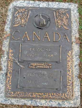 CANADA, ELMORE - Saline County, Arkansas | ELMORE CANADA - Arkansas Gravestone Photos