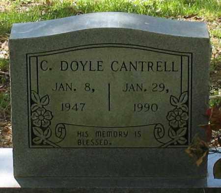 CANTRELL, CLIFFORD DOYLE - Saline County, Arkansas | CLIFFORD DOYLE CANTRELL - Arkansas Gravestone Photos
