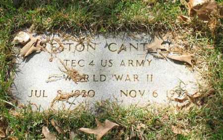 CANTRELL (VETERAN WWII), PRESTON - Saline County, Arkansas | PRESTON CANTRELL (VETERAN WWII) - Arkansas Gravestone Photos