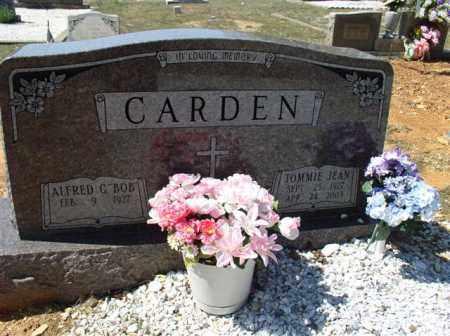CARDEN, TOMMIE JEAN - Saline County, Arkansas | TOMMIE JEAN CARDEN - Arkansas Gravestone Photos