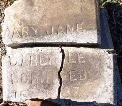 CARLISLE, MARY JANE - Saline County, Arkansas | MARY JANE CARLISLE - Arkansas Gravestone Photos