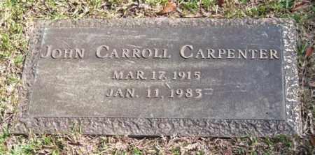 CARPENTER, JOHN CARROLL - Saline County, Arkansas | JOHN CARROLL CARPENTER - Arkansas Gravestone Photos