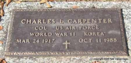 CARPENTER (VETERAN 2 WARS), CHARLES L - Saline County, Arkansas | CHARLES L CARPENTER (VETERAN 2 WARS) - Arkansas Gravestone Photos