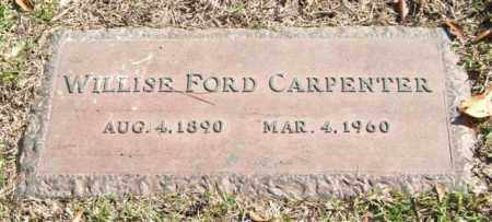 CARPENTER, WILLISE - Saline County, Arkansas | WILLISE CARPENTER - Arkansas Gravestone Photos