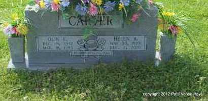 CARTER, OLIN F. - Saline County, Arkansas | OLIN F. CARTER - Arkansas Gravestone Photos