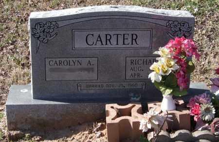 CARTER, RICHARD LEE - Saline County, Arkansas   RICHARD LEE CARTER - Arkansas Gravestone Photos