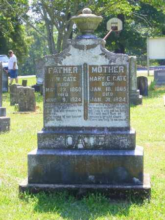 CATE, MARY E. - Saline County, Arkansas | MARY E. CATE - Arkansas Gravestone Photos