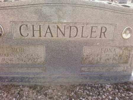 CHANDLER, EDNA - Saline County, Arkansas | EDNA CHANDLER - Arkansas Gravestone Photos