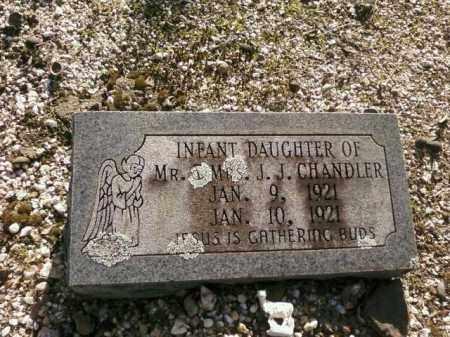 CHANDLER, INFANT DAUGHTER - Saline County, Arkansas | INFANT DAUGHTER CHANDLER - Arkansas Gravestone Photos