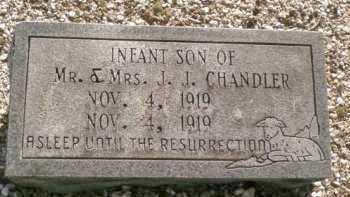 CHANDLER, INFANT SON - Saline County, Arkansas | INFANT SON CHANDLER - Arkansas Gravestone Photos