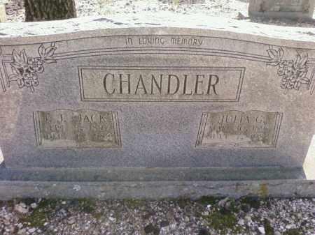 CHANDLER, J.J. 'JACK' - Saline County, Arkansas   J.J. 'JACK' CHANDLER - Arkansas Gravestone Photos