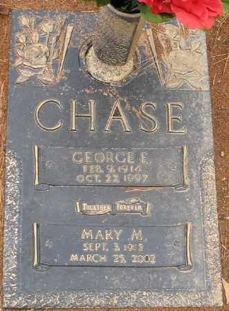 CHASE, GEORGE E. - Saline County, Arkansas | GEORGE E. CHASE - Arkansas Gravestone Photos