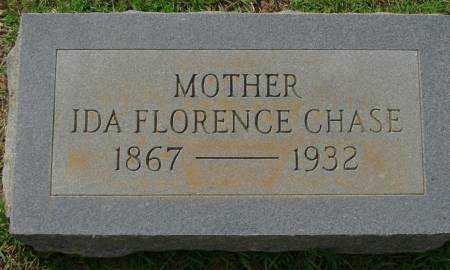 CHASE, IDA FLORENCE - Saline County, Arkansas | IDA FLORENCE CHASE - Arkansas Gravestone Photos