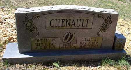 CHENAULT, LILLIE E. - Saline County, Arkansas | LILLIE E. CHENAULT - Arkansas Gravestone Photos