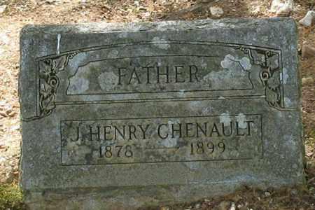 CHENAULT, J. HENRY - Saline County, Arkansas | J. HENRY CHENAULT - Arkansas Gravestone Photos
