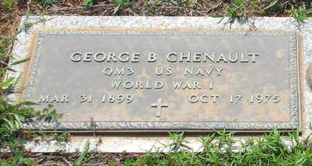 CHENAULT (VETERAN WWI), GEORGE B - Saline County, Arkansas | GEORGE B CHENAULT (VETERAN WWI) - Arkansas Gravestone Photos