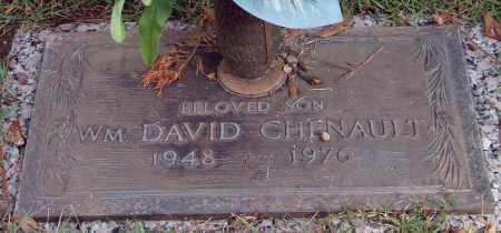 CHENAULT, WILLIAM DAVID - Saline County, Arkansas | WILLIAM DAVID CHENAULT - Arkansas Gravestone Photos