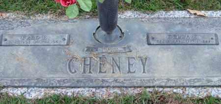 CHENEY, FRED E. - Saline County, Arkansas | FRED E. CHENEY - Arkansas Gravestone Photos