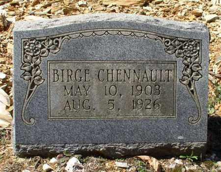 CHENNAULT, BIRGE - Saline County, Arkansas | BIRGE CHENNAULT - Arkansas Gravestone Photos