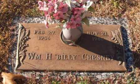 "CHESNEY, WM. H ""BILLY"" - Saline County, Arkansas | WM. H ""BILLY"" CHESNEY - Arkansas Gravestone Photos"