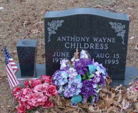 CHILDRESS, ANTHONY WAYNE - Saline County, Arkansas | ANTHONY WAYNE CHILDRESS - Arkansas Gravestone Photos