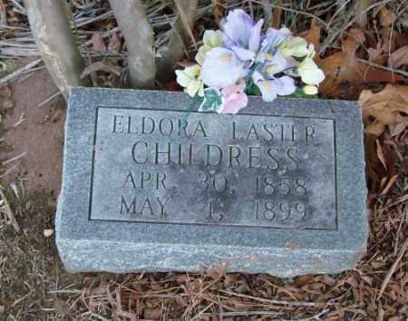 LASTER CHILDRESS, ELDORA - Saline County, Arkansas | ELDORA LASTER CHILDRESS - Arkansas Gravestone Photos